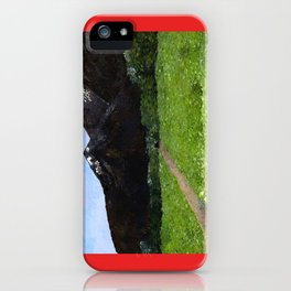 Mountain Pass iPhone Case