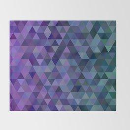 Triangle tiles Throw Blanket