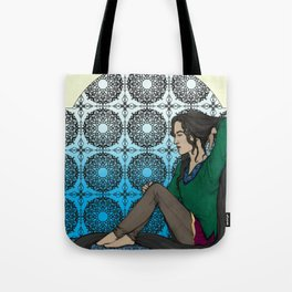 Let Down Your Hair Tote Bag