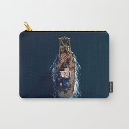 Barge Top View | Aerial Photography  Carry-All Pouch