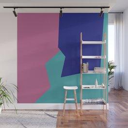Minimalism Abstract Colors #9 Wall Mural