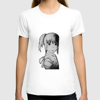 chihiro T-shirts featuring Remember Your Name (Chihiro) - Sketch by ScoDeluxe