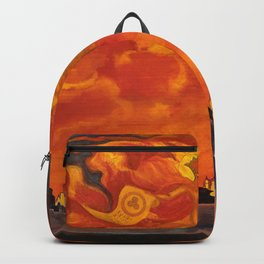 Nicholas Roerich - St Sophia The Almighty Wisdom - Digital Remastered Edition Backpack