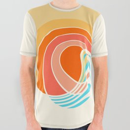 Sun Surf All Over Graphic Tee