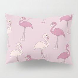 Flamingo Pattern Pillow Sham