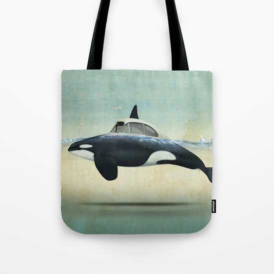 killer car Tote Bag