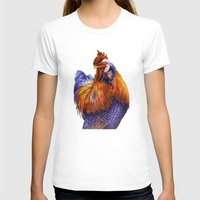 rooster T-shirts featuring Rooster by Tim Jeffs Art