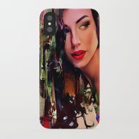pin up iPhone & iPod Cases featuring Pin Up by Joe Ganech