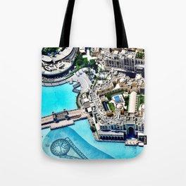 Dubai Fountain Tote Bag