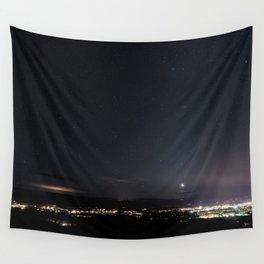Arizona Desert Night Sky Stars Wall Tapestry