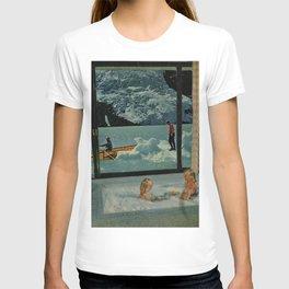 A Walk Along The River. T-shirt