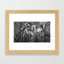 No hay recuerdos, Tríptico Framed Art Print