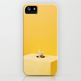 Mouse and Cheese iPhone Case