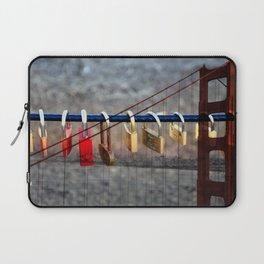 LOVE LOCKED - GOLDEN GATE BRIDGE Laptop Sleeve