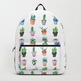 drawing cacti Backpack