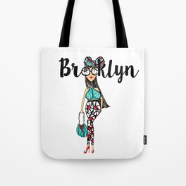 HeadWrapped Tote Bag