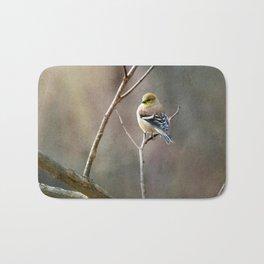 Morning Goldfinch Bath Mat