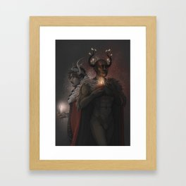 Winter Kings Framed Art Print