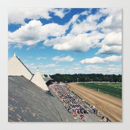 Rooftop View at Saratoga Race Course Canvas Print