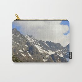 Blue Sky - Snowy Mountain Carry-All Pouch