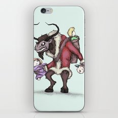 Krampus iPhone & iPod Skin
