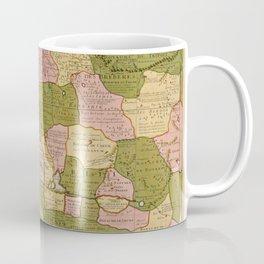 North West Africa 1707 Coffee Mug