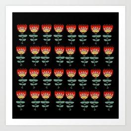 Enchanted Flowers Art Print