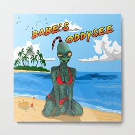 Babe's Oddysee Metal Print