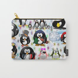 PENGUIN family for kids Carry-All Pouch