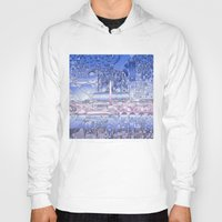 washington dc Hoodies featuring washington dc city skyline by Bekim ART