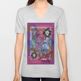 Lori the Leo Unisex V-Neck