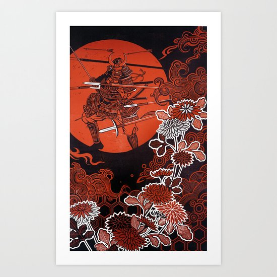 Setsuna - split second Art Print