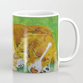 Little Dog, A Heartbeat At My Feet Coffee Mug