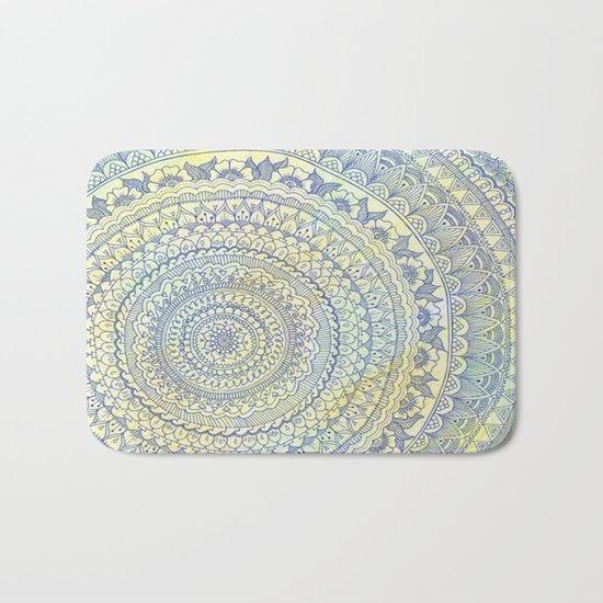 Mandala Doodle Bath Mat