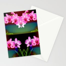 Magical Orchids Stationery Cards