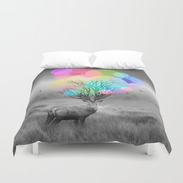 Calm Within the Chaos Duvet Cover