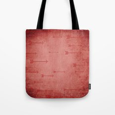 Loxley in Ruby - Arrows Tote Bag