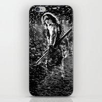 winter soldier iPhone & iPod Skins featuring Winter Soldier by Mari Vasilescu