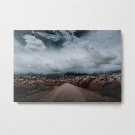 That Alabama Hills Road II Metal Print