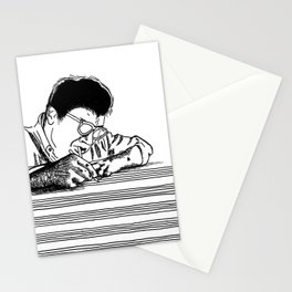 Morton Feldman (Lines Only) Stationery Cards