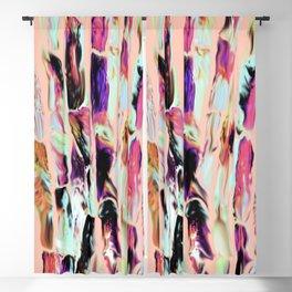 Marbling Sugarcane Peach Blackout Curtain