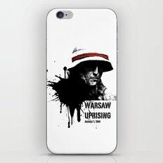 Warsaw Uprising 1944 iPhone & iPod Skin
