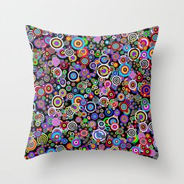 Spots (Version 7) by Bruce Gray Throw Pillow