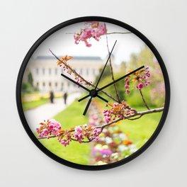 Paris In Springtime Wall Clock