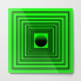Abstract Green 101 Metal Print