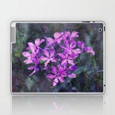 purple pink flower explosions Laptop & iPad Skin
