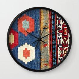 Sarab Khorjin Azerbaijan  Antique Tribal Persian Rug Print Wall Clock