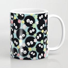 Pastel Soot Sprites with Konpeito Sugar Candy Coffee Mug