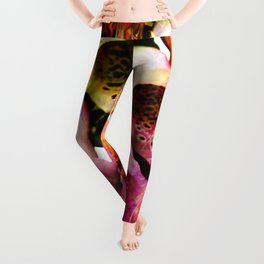 Abstract Perfection - Bellflower Leggings