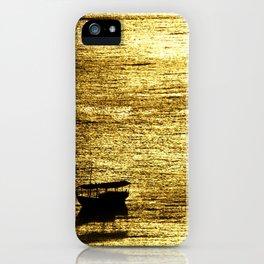 Gol Sea iPhone Case